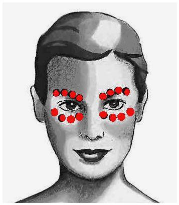 даосский массаж глаз
